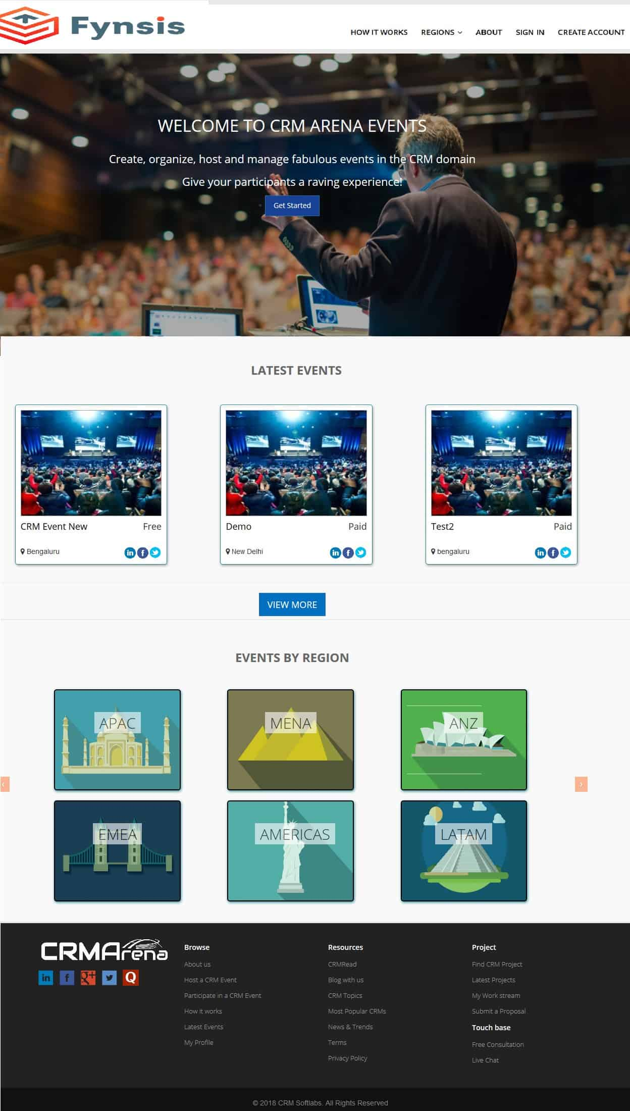 Events Marketplace