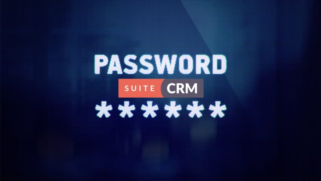 SuiteCRM default Password
